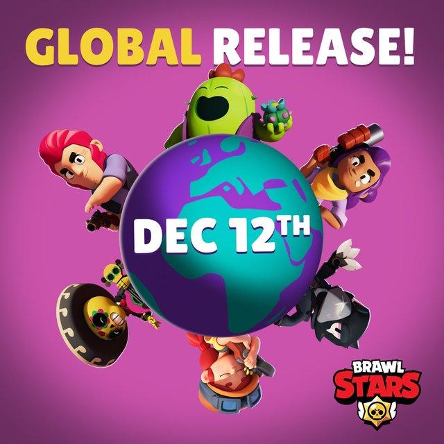 Глобальны релиз Brawl Stars 12 декабря + новый броулер